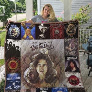 Whitesnake Albums Quilt Blanket For Fans Ver 17