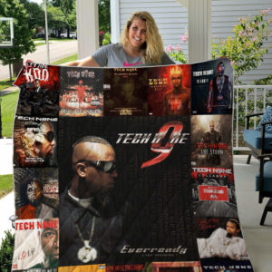 Tech N9ne Albums Quilt Blanket For Fans Ver 17