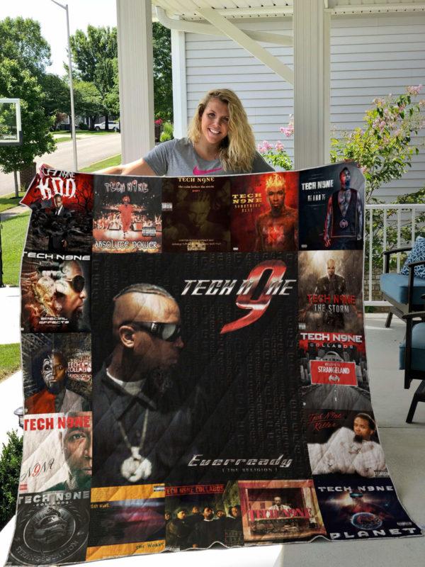 Tech N9ne Albums Quilt Blanket For Fans Ver 17