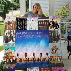 The Backstreet Boys Albums Quilt Blanket For Fans Ver 17
