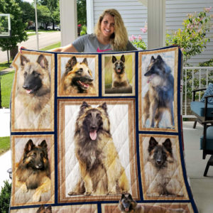 Belgian Tervuren Picture Collection Quilt Blanket Great Customized Blanket Gifts For Birthday Christmas Thanksgiving
