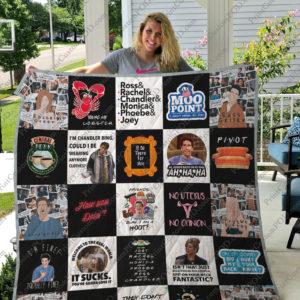 Tv Show Friends Quilt Blanket For Fans Ver 25
