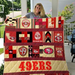San Francisco 49ers Quilt Blanket Ver 08