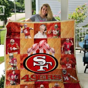 San Francisco 49ers Quilt Blanket Ver 01