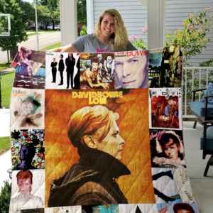 David Bowie Albums Quilt Blanket For Fans Ver 17