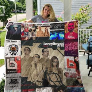 Benny Benassi Albums Quilt Blanket For Fans Ver 17