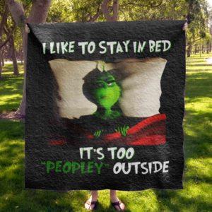 Grinch Quilt Blanket 02