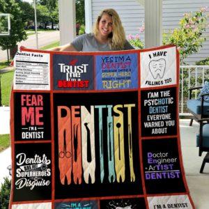 Dentist Quilt Blanket 01