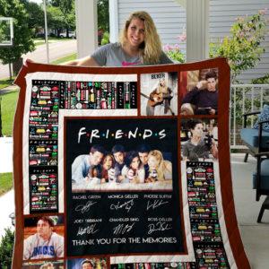 Friends (Tv Show) Quilt Blanket 03