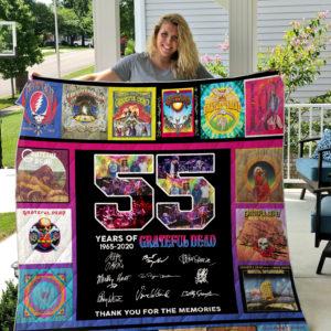 Grateful Dead Quilt Blanket 09