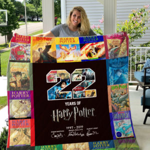 Harry Potter Quilt Blanket 02
