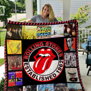 The Rolling Stones Quilt Blanket 01