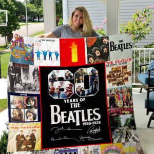 The Beatles Quilt Blanket 02