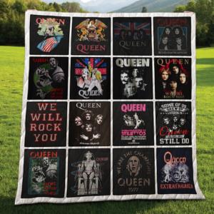 Queen Quilt Blanket For Fans 04