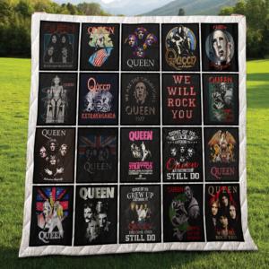 Queen Quilt Blanket For Fans 02