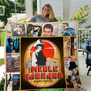 Best Of Merle Haggard Quilt Blanket