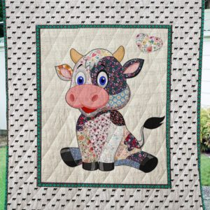 Cow Quilt Blanket 02