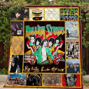 Best Of The Rolling Stones Quilt Blanket