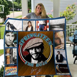 Best Of Bruce Springsteen Quilt Blanket