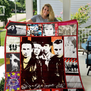 Best Of U2 Quilt Blanket