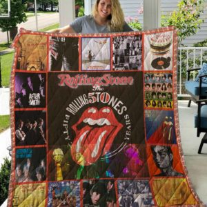 Rolling Stone 50th Anniversary – Quilt Blanket