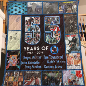 55 Years Of The Who Quilt Blanket