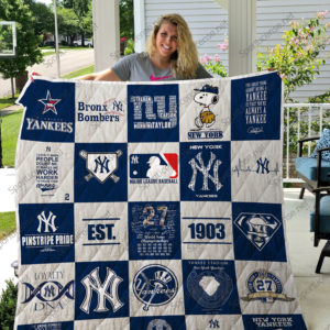 Mlb – New York Yankees Quilt Blanket