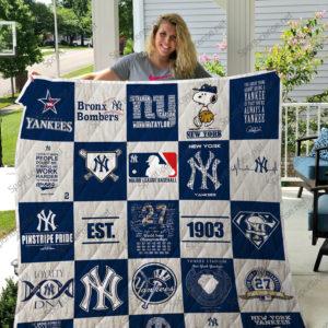 Mlb – New York Yankees Quilt Blanket