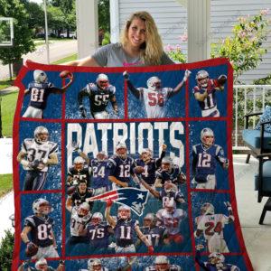 New England Patriots Quilt Blanket