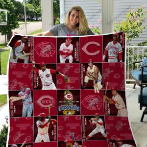 Mlb – Cincinnati Reds Quilt Blanket 03