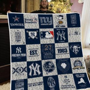 Mlb – New York Yankees 25 Quilt Blanket