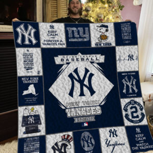 Mlb – New York Yankees Quilt Blanket 01