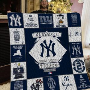 Mlb – New York Yankees Quilt Blanket 01