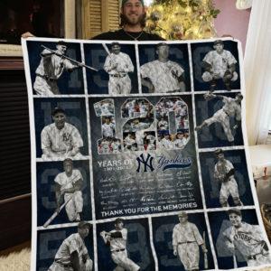 Mlb – New York Yankees Quilt Blanket 02