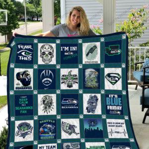 Seattle Seahawks Quilt Blanket