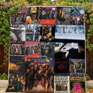 Bon Jovi – Quilt Blanket