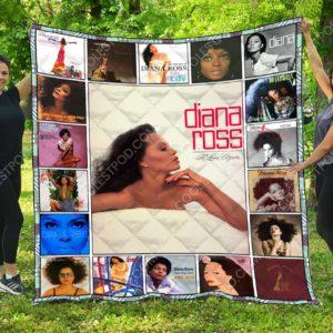 Diana Ross Quilt Blanket