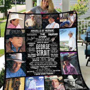George Strait Quilt Blanket