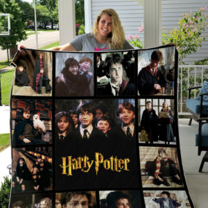 Harry Potter Movies Quilt Blanket 01