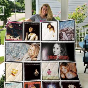 Barbra Streisand Quilt Blanket