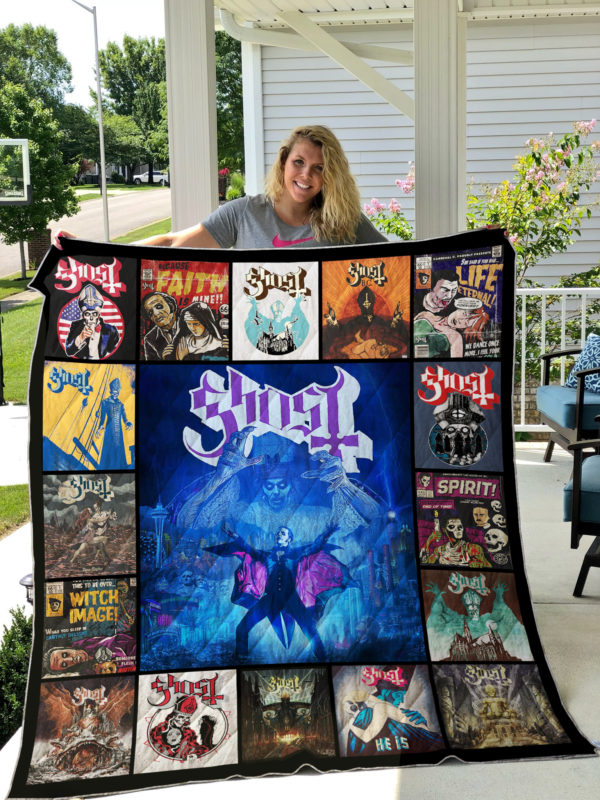 Ghost (Swedish Band) Quilt Blanket