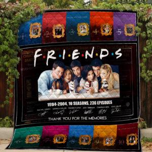 Friends Quilt Blanket