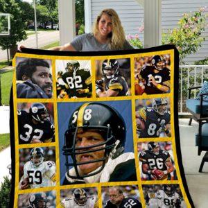 Pittsburgh Steelers Legends Quilt Blanket
