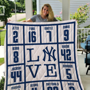 New York Yankees Legends Quilt Blanket