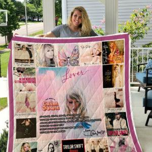 Taylor Swift Quilt Blanket