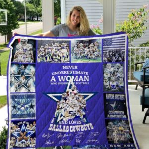 Dallas Cowboys Quilt Blanket 03