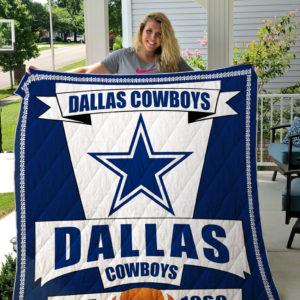 Dallas Cowboys Quilt Blanket 05