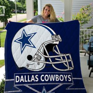 Dallas Cowboys Quilt Blanket 07