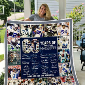 Dallas Cowboys Quilt Blanket