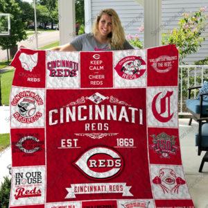 Mlb – Cincinnati Reds Quilt Blanket